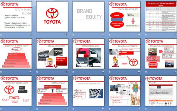 toyota brand equity The economic times brand equity is a weekly colour supplement that appears every wednesday, which covers marketing, advertising, media and market research.
